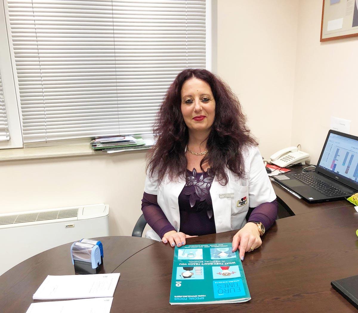 Dr. Ralitsa Grancharova, MD