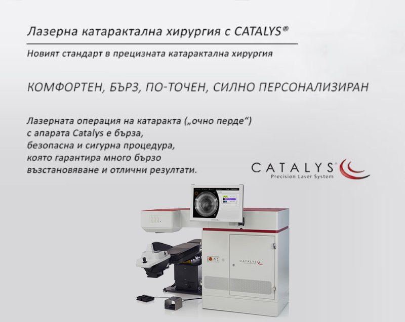 Laser cataract surgery with Catalys®