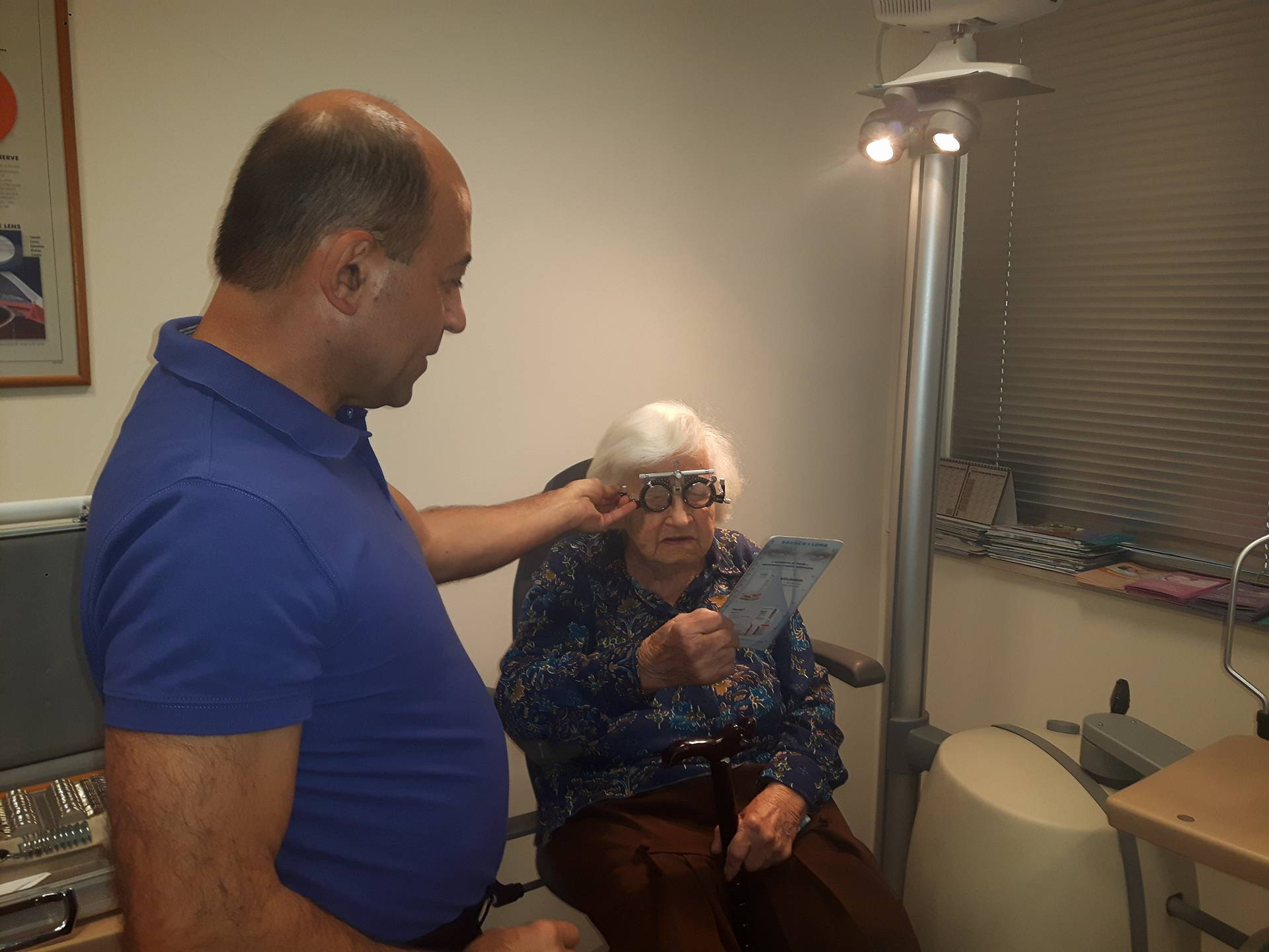 Doctors from St. Nikolay Chudotvorets Eye Clinic in Varna saved 102-year old woman from blindness